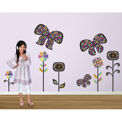 4 Walls Rainbow Garden Wall Decal