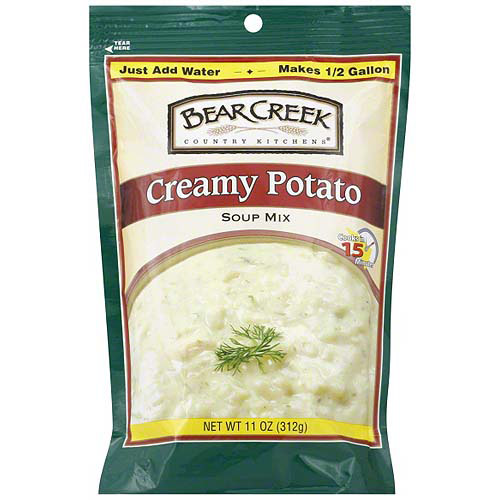 Bear Creek Creamy Potato Soup Mix, 11 oz (Pack of 6)