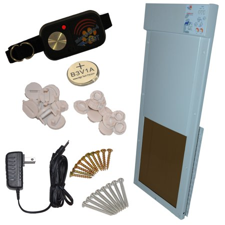 Model PX-2 Power Pet Fully Automatic Pet Door, Size: Large, for Dogs and up to 100 lbs.