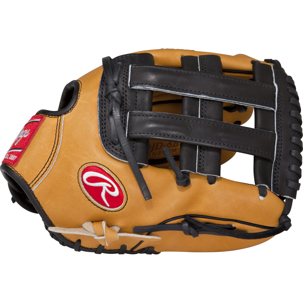Rawlings Heart of the Hide Baseball Glove, 12.50in Outfie...