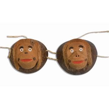 COCONUT MONKEY BRA (Women's Monkey Costume)