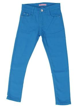 JGP-COLOR - Girls' Colored Denim 5 Pockets Embellished Skinny jeans