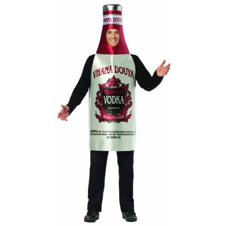 Vodka Men's Adult Halloween Costume, One Size, - Halloween Drinks For Adults With Vodka
