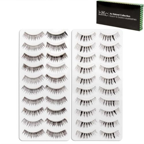 BMC 20 Pair 2 Styles False Eyelashes - Day To Night Falsies Collection, Set 7