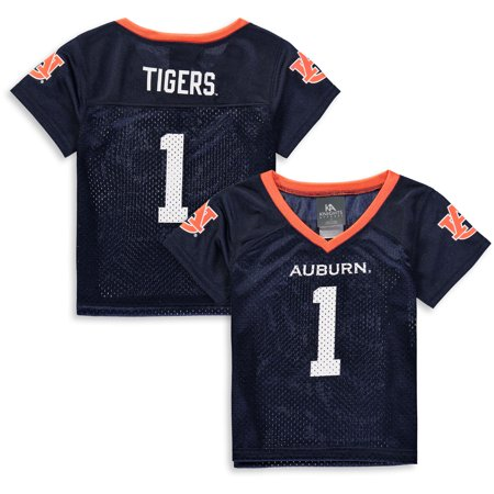 Toddler Russell Navy Auburn Tigers Replica Football -