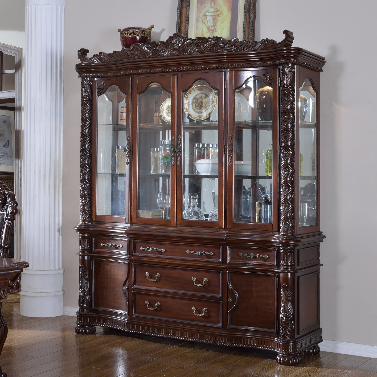 Meridian Furniture Barcelona China Cabinet by Meridian Furniture