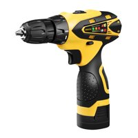 URCERI 16.8V Cordless Electric Drill with LED, Multiple Sockets, Screwdriver & Drill Bits