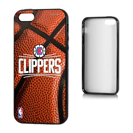 Los Angeles Clippers Basketball Design Apple iPhone 5 5S Bumper Case by Keyscaper by
