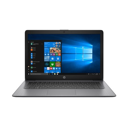 HP Stream 14 Laptop, Intel Celeron N4000, 4GB SDRAM, 32GB eMMC, Office 365 1-yr, Brilliant Black