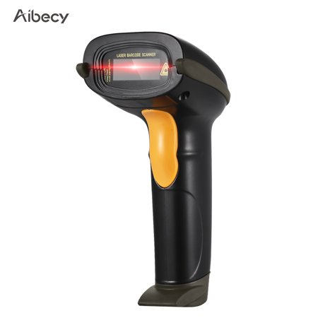Aibecy USB Barcode Scanner Handheld Wired Bar Code 1D CCD