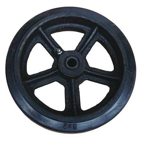 - Mold-On Rubber Wheel,8 DAYTON MH34D66901G