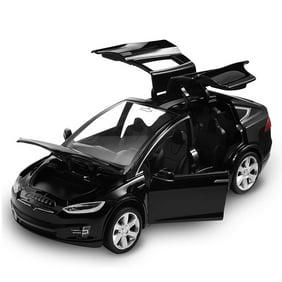 Diecast Toy 1 32 Scale Alloy Cars For Tesla Toy Model Suv Car Sound Light Toy Kids Toys Walmart Com Walmart Com