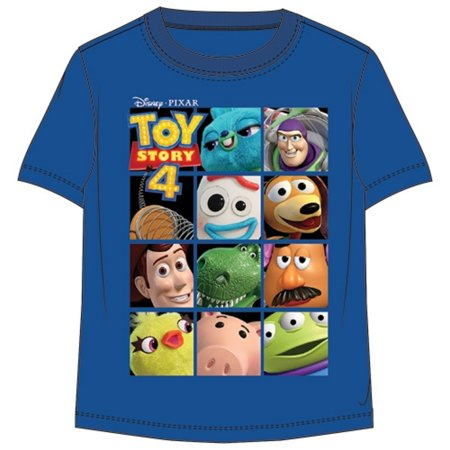 Woody Outfits Toy Story (Disney Toddler Boys T Shirt Toy Story Toy Box Royal Blue)