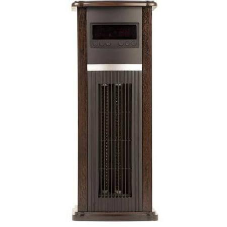 Haier 5200 Btu 1500w Infrared Tower Heater Remote Dark