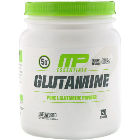 MusclePharm Glutamine Essentials Powder, Muscle Growth and Recovery, 120