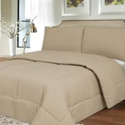 All Season Hypo-Allergenic Lightweight Down Alternative Comforter Comforter, cream, twin