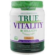 Green Foods True Vitality Plant Protein Powder, Vanilla, 15g Protein, 1.6 Lb