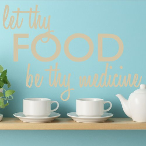 The Decal Guru Let Thy Food Wall Decal