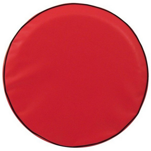 Tire Cover by Holland Bar Stool - Plain Red, 25.50'' x 8''