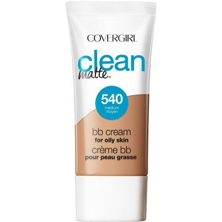 2 Pack - CoverGirl Clean Matte BB Cream Medium 540 For Oily Skin 1