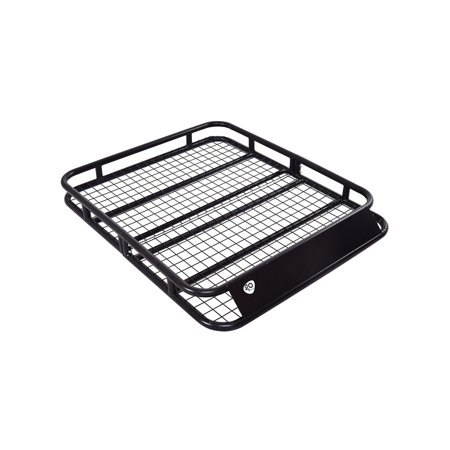 Costway Goplus Universal Roof Rack Cargo Car Top Luggage Hold Carrier Basket Travel SUV
