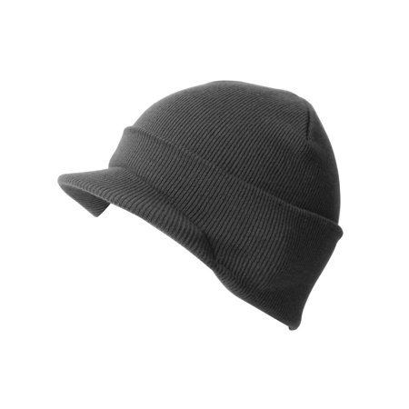 New Blank Cuff Winter Beanie Visor (Comes In 18 Different Colors) aaf49bbe5b88
