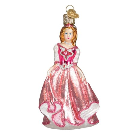 Princess Glass Blown Ornament, Hand crafted in age-old tradition using techniques that originated in the 1800's By Old World - Chinese Christmas Traditions