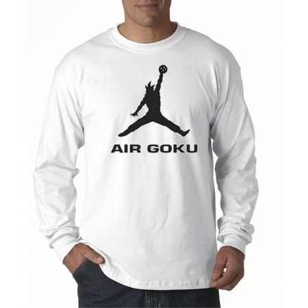 New Way 629 - Unisex Long-Sleeve T-Shirt Air Goku Dbz Dragon Ball Z Jordan - Dbz Trunks