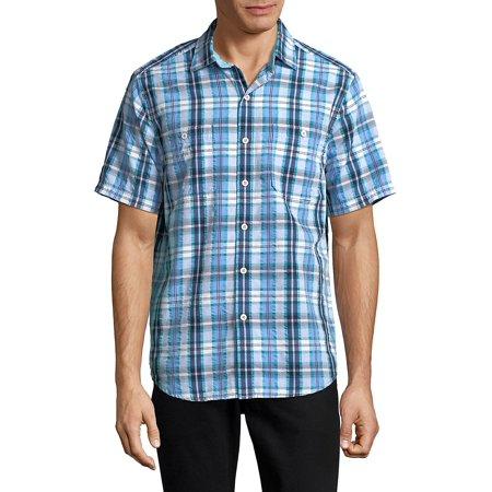 Papagayo Plaid Short Sleeve Shirt