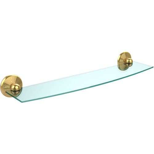 "Monte Carlo Collection 24"" Glass Shelf (Build to Order)"