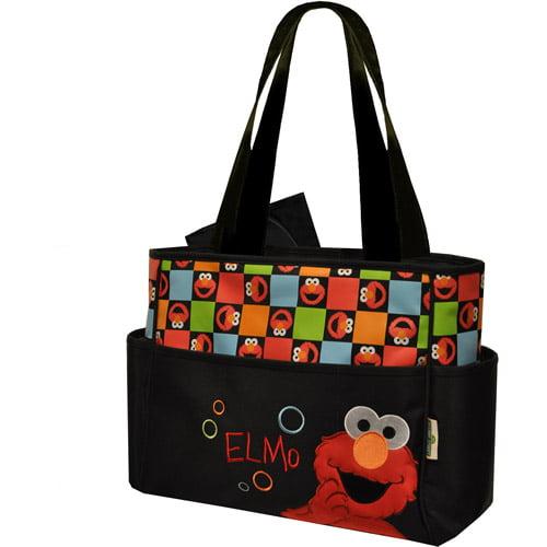 Sesame Street Elmo 2 Pc Diaper Bag