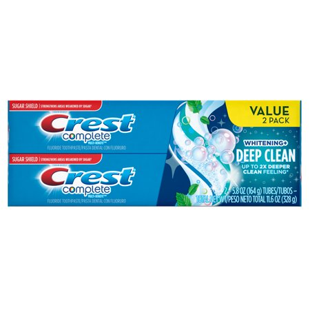 Terminer - Whitening Deep Clean Effervescent Dentifrice 58 oz Twin Pack