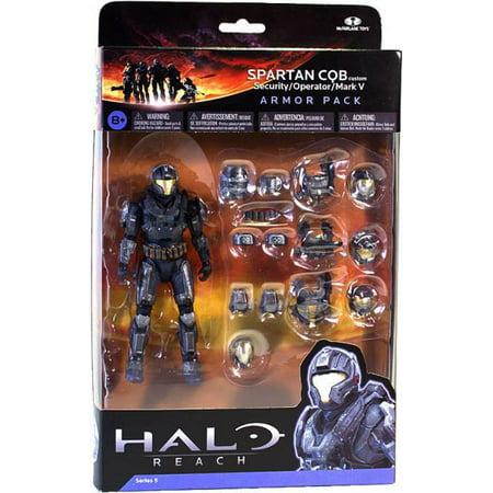 McFarlane Halo Reach Series 5 Spartan CQB Custom Armor Pack [Steel]