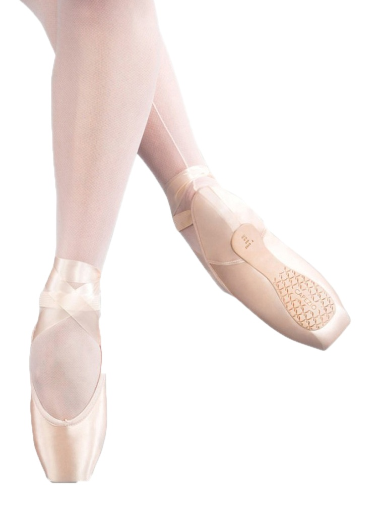 Capezio Women Airess Maxifirm Tapered Toe Pointe Shoes 8 N US