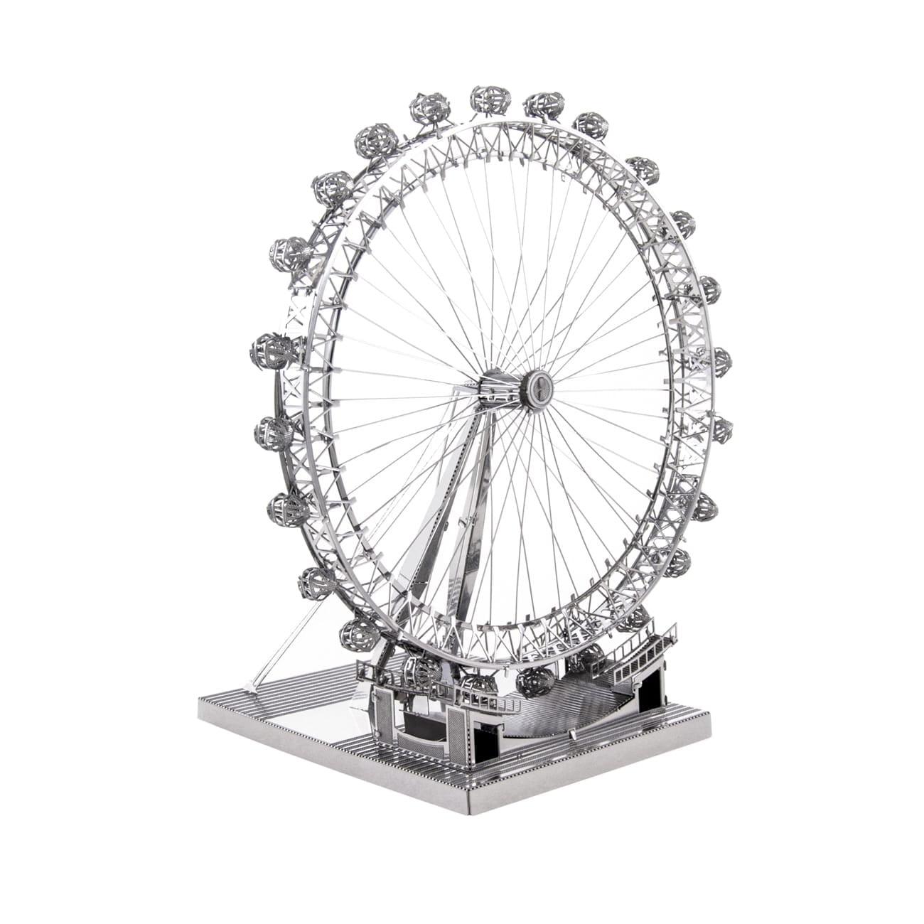 ICONX 3D Metal Model Kit, London Eye by Fascinations