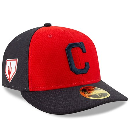 2e66cedb Cleveland Indians New Era 2019 Spring Training Low Profile 59FIFTY Fitted  Hat - Red/Navy