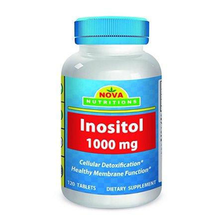 Nova Nutritions Inositol 1000 mg 120 Tablets