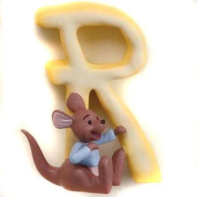 Disney Pooh & Friends Magnetic Alphabet Letter, R