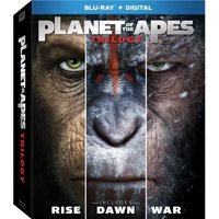 Planet of the Apes Trilogy (Blu-ray + Digital)