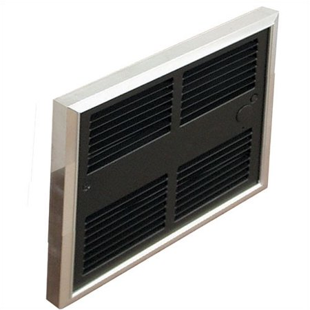 TPI Low Profile 6,826 BTU Wall Insert Electric Fan Heater with Wall Box ()