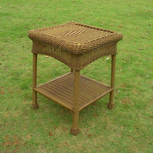Mocha International Caravan Small PVC Resin Side Table