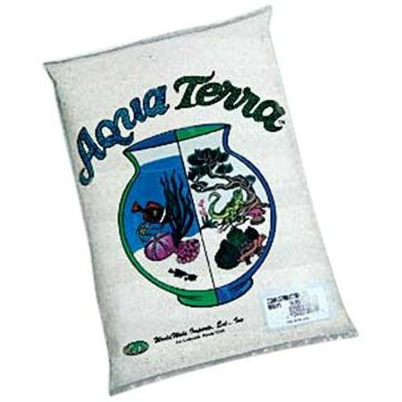 Worldwide Imports Aww80065 Aqua Terra Sand 5-Pound Natural White (Pack of 6) (Aqua Terra Sand)