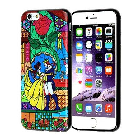 Ganma Beauty and the Beast Rubber Case For iPhone X, 10 (5.8