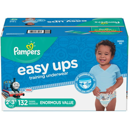 Pampers Easy Ups Boys Training Pants Enormous Pack - 132ct
