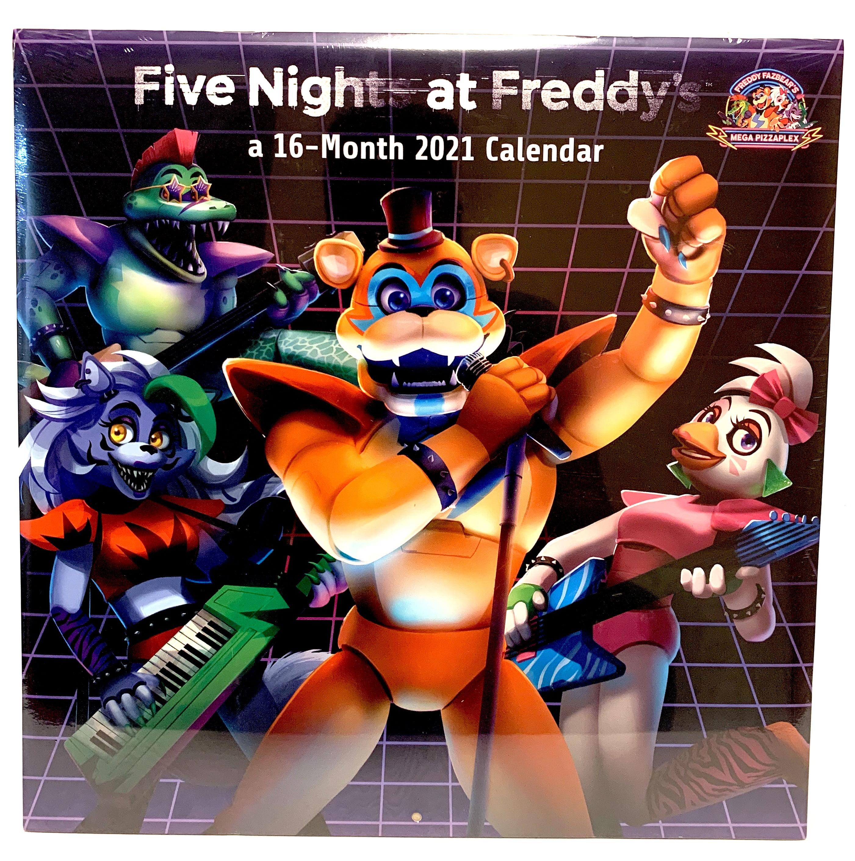 Five Nights At Freddys 2021 Calendar Photos