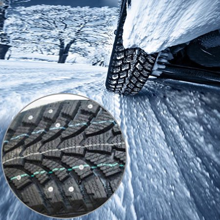500Pcs Car Tires Studs Screw Snow Tire Studs Spikes Wheel Tyres Snow Chains Studs for Car Motorcycle Tires Winter Universal - image 5 of 7