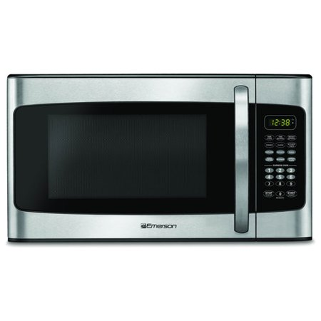 Emerson 1 Cu Ft Microwave Stainless Steel