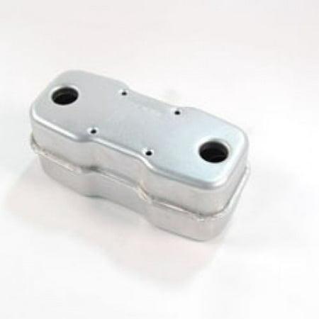 MTD Genuine OEM 951-0616B Muffler- Dual Inlet.  951-0616B replaces 751-0616A. 01006537, 751-0557.