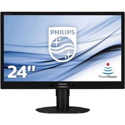 Philips Brilliance 241B4LPYCB 24in 16:9 5 ms 1920 x 1080 16.7 Million Colors LED LCD Monitor by Philips