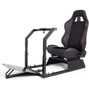 VEVOR Racing Simulator Cockpit Gaming Chair W/ Stand for Logitech G920 G29 PS3 Xbox360